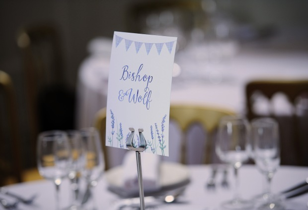 wedding table name, wedding table number, Cornwall, lavender, purple, lilac, Cornish, Laura Likes