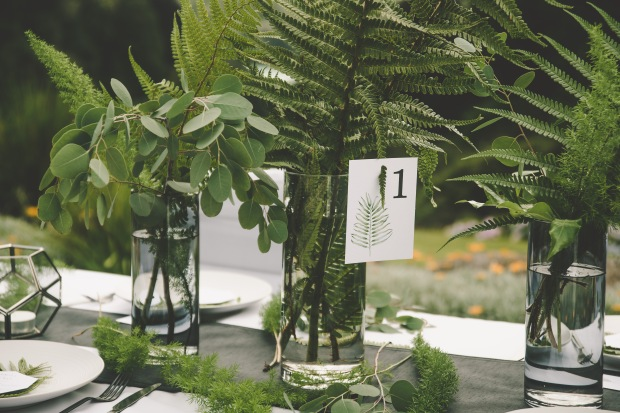table number, wedding table number, table name, leafy wedding table, Cornwall, Cornish, Laura Likes, wedding stationery