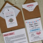 summer fete, fairground, bunting, marquee, wedding, stationery, stationary, invitation, invitations, invite, invites, scratch panels, save the date, tags, fun, bright, colourful, pastel, Cornish, cornwall, Laura likes